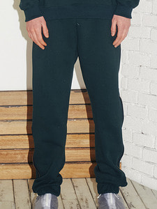 Logo zipper jogger pants -GR (S)
