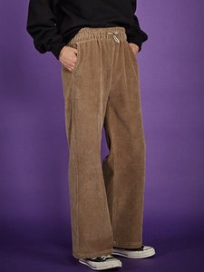 [50% SALE]corduroy wide pants - BE [소량재입고]