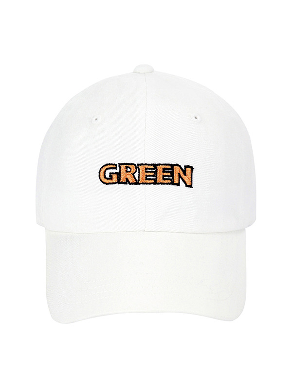 [10%SALE] GREEN BALLCAP - WH