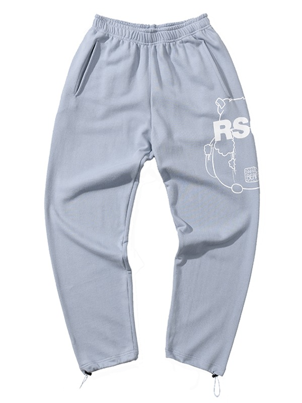 BIG CB PANTS - SKY BLUE