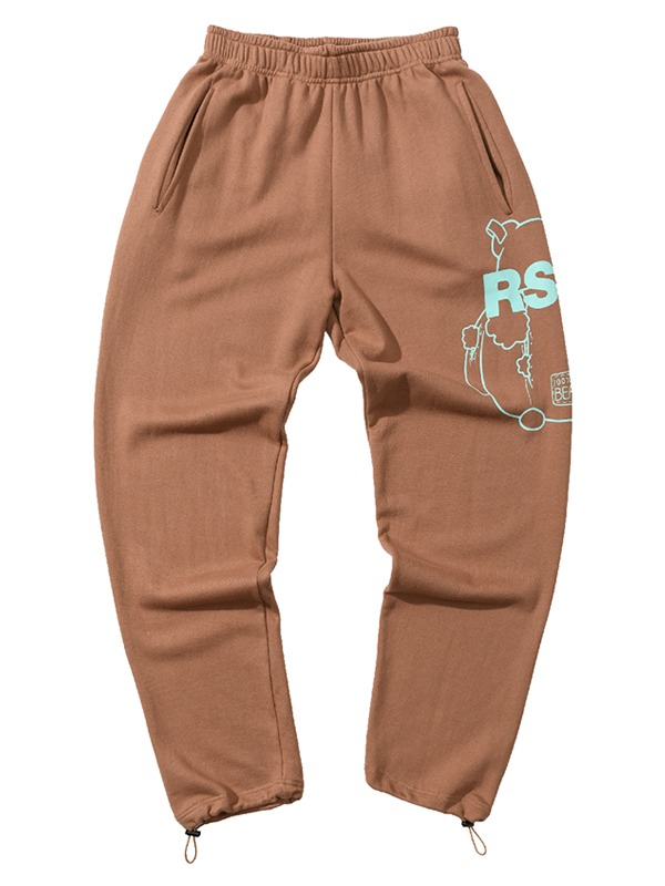 BIG CB PANTS - BROWN